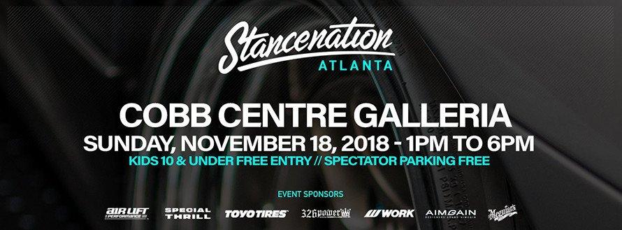 StanceNation Atlanta 2018